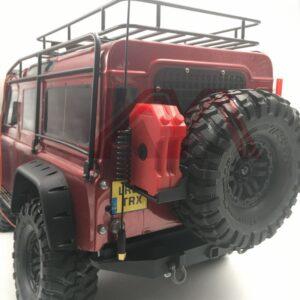 KYX Antena de Metal para Axial SCX10 II TRX-4 1/10 RC Crawler