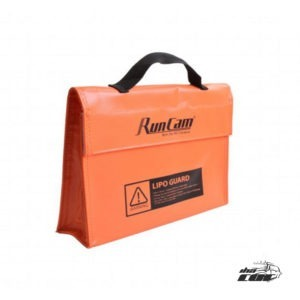 Marca: RunCam Material: fibra de vidrio Tamaño: 240 * 180 * 65 mm Color naranja Peso del paquete: Aprox 188g