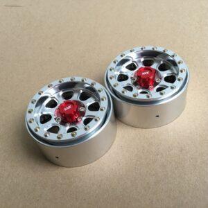 """Juego de Llantas KYX 1.9"""" Aluminio CNC"""
