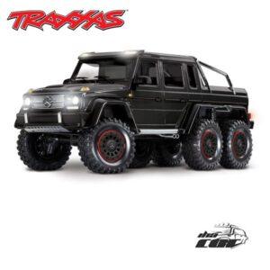 comprar Traxxas TRX-6 Mercedes-Benz G 63 AMG Body 6X6 Electric Trail Truck Negro