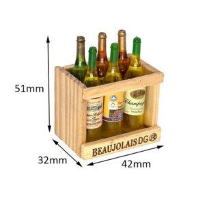 Decoración CJG Caja de bebidas Beaujolais DG