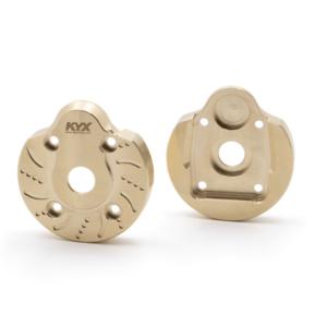 Repuesto KYX Peso portal de dirección nudillo para Axial Capra