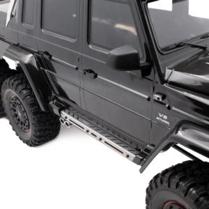 Repuesto KYX 1/10 Estribo Lateral de acero inoxidable para Traxxas TRX-6