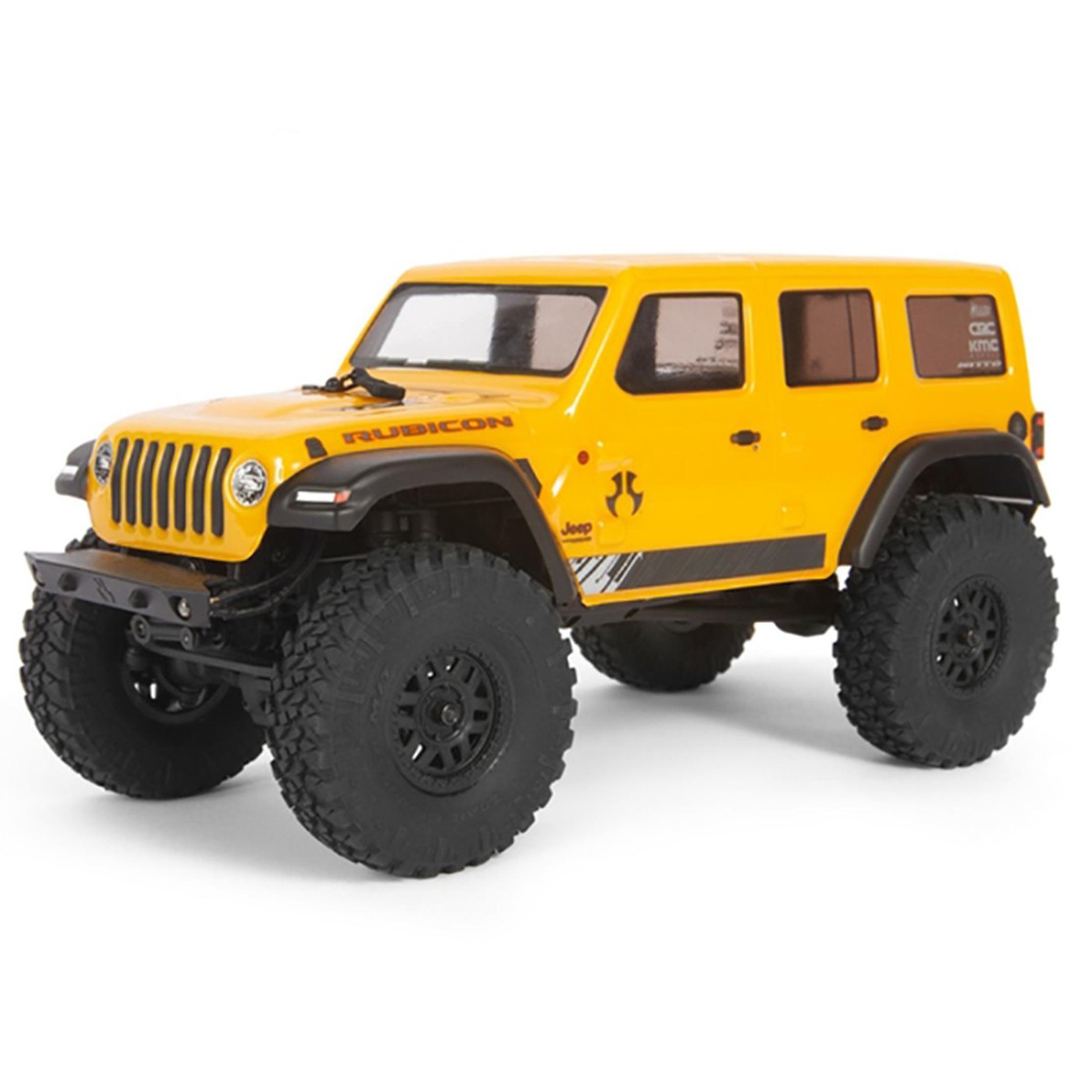 AXIAL SCX24 Jeep Wrangler 1/24 JLU CRC 4WD RTR Amarillo