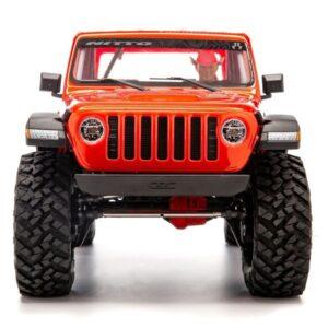 envío desde españa jeep wrangler scx10 III naranja