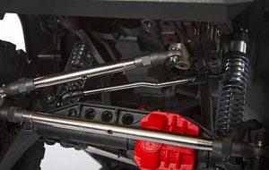 suspensión delantera optimizada scx10 III