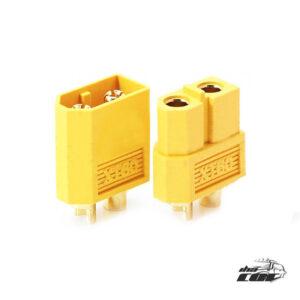 comprar XT60-conector-macho-hembra-para-batería-Quadcopter-multicóptero-batería-ESC amarillo