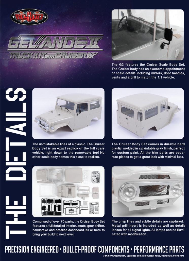 Detalles Gelande II kit